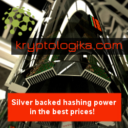 Silver backed hashing power in the best prices
